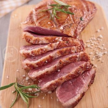 欣明生鮮肉品 頂級櫻桃鴨胸(200公克±10%/片)