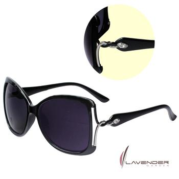 Lavender Lavender時尚太陽眼鏡-S3722C1黑(S3722C1)