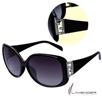 Lavender Lavender時尚太陽眼鏡-S3719C1-黑(S3719C1)