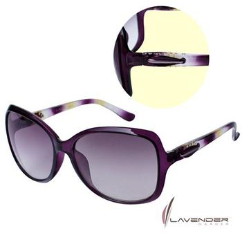 Lavender Lavender時尚太陽眼鏡-S3713C4-紫/黃(S3713C4)