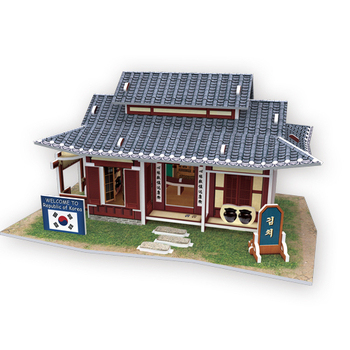 4D手作紙雕 韓國 - 泡菜屋(個)