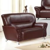 《AGNES 艾格妮絲》幸福乳膠皮沙發雙人座(三色可選)(咖啡)