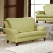 《AGNES 艾格妮絲》荷娜乳膠厚皮沙發組雙人座(三色可選)(綠色)