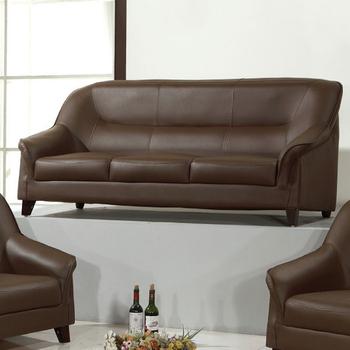 《AGNES 艾格妮絲》莉秀透氣乳膠皮沙發三人座(三色可選)(咖啡)