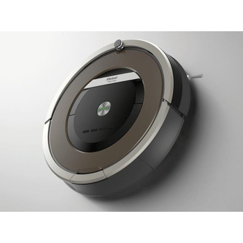iRobot 美國iRobot第8代Roomba 870 鐵灰髮絲紋鋼琴烤漆 天后級機器人掃地吸塵(Roomba 870)