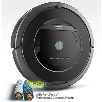 iRobot 美國iRobot第8代Roomba 880 黑色髮絲紋鋼琴烤漆 天王級機器人掃地吸塵(Roomba 880)
