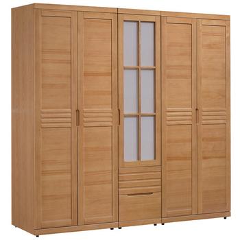 《時尚屋》日式松木6.9x6.7尺衣櫥