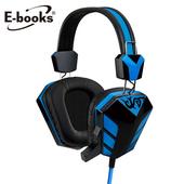 《E-books》S28 電競音控頭戴耳機麥克風(1入)