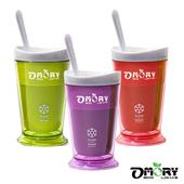 《OMORY》涼夏神奇酷涼奶昔冰沙杯(附匙)-3色(綠色)