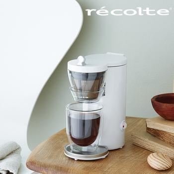 recolte 日本麗克特 Solo Kaffe 單杯咖啡機(典雅白)