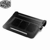 《CoolerMaster》Notepal U3 PLUS 全鋁散熱墊(黑色)