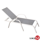 《LOGIS》ALOHA 海灘坐臥兩用椅/休閒椅/躺椅(小躺椅)