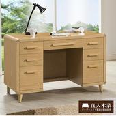 《日本直人木業》FREA原木生活功能書桌