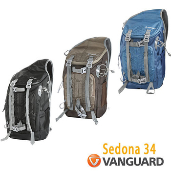 《VANGUARD 精嘉》Sedona 超越者 34 攝影單肩包(公司貨)(藍)