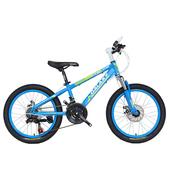 《BIKEDNA》MT218 20吋21速 兒童避震登山車(天藍)