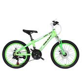 《BIKEDNA》MT218 20吋21速 兒童避震登山車(螢光綠)