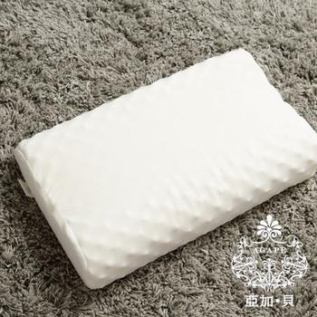 《AGAPE亞加●貝》100%天然乳膠枕★台灣製(乳膠枕)