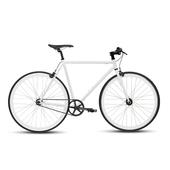 《BIKEONE》V4 26吋單速車 英式時尚經典款-平把(白)