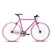 《BIKEONE》V4 26吋單速車 英式時尚經典款-平把(粉紅)