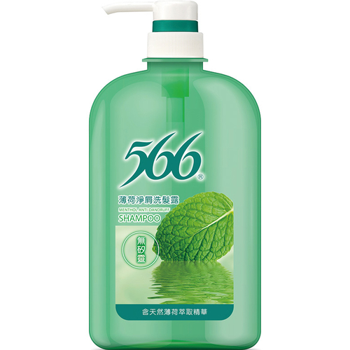 566 薄荷淨屑洗髮露(800g/瓶)