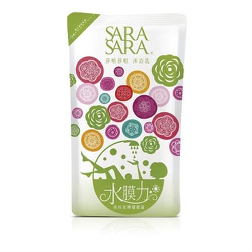 SARA SARA 莎啦莎啦沐浴乳補充包-西西里檸檬健康(800g/包)