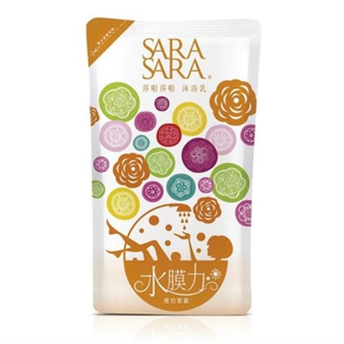 SARA SARA 莎啦莎啦沐浴乳補充包-琥珀緊緻(800g/包)