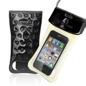 《g-IDEA》Travel韓國進口4.7吋手機通用時尚側背防水袋(黑色)
