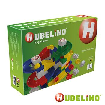 德國HUBELiNO 軌道式積木 軌道套件+基本積木組(85pcs)