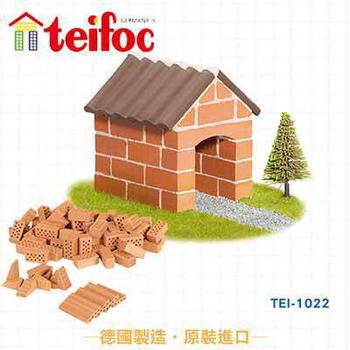 德國teifoc DIY益智磚塊建築玩具(TEI1022)