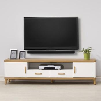日本直人木業 LIVE潔白生活180CM電視櫃
