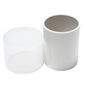 《島民》O型置物盒(白色)(1個/袋)