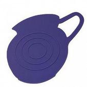《島民》矽膠隔熱鍋墊-牛奶壺影子(紫)(1個/袋)