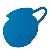 《島民》矽膠隔熱鍋墊-牛奶壺影子(藍)(1個/袋)