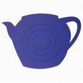 《島民》矽膠隔熱鍋墊-茶壺影子(紫)(1個/袋)