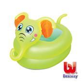 《Bestway》寶貝充氣浴盆-大象、小丑魚(大象)