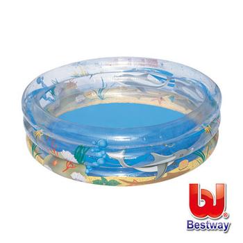 ★結帳現折★Bestway 海洋世界充氣水池直徑150cm