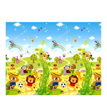 【BabyTiger虎兒寶】 Parklon 帕龍無毒多功能地墊-單面包邊-四款可選(K277動物嘉年華)