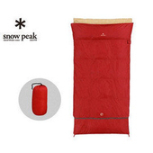 《Snow Peak》方形加寬露營睡袋 BDD-103