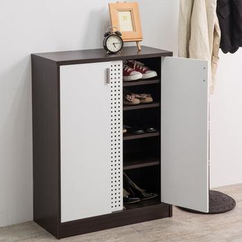 Frama 伊里斯時尚雙色透氣鞋櫃