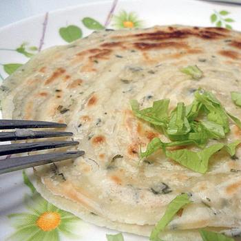 蔥阿伯 MINI手工蔥抓餅(120g*5片/包)