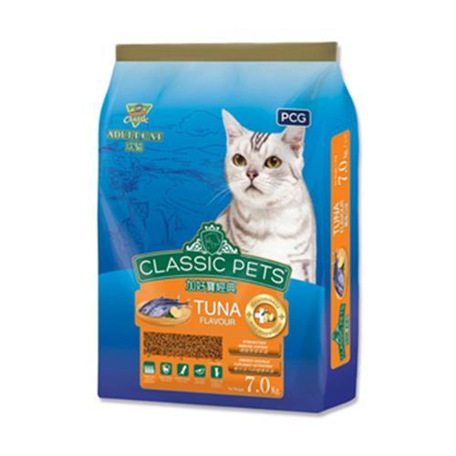 加好寶 經典乾貓糧 - 鮪魚口味(7kg/包)