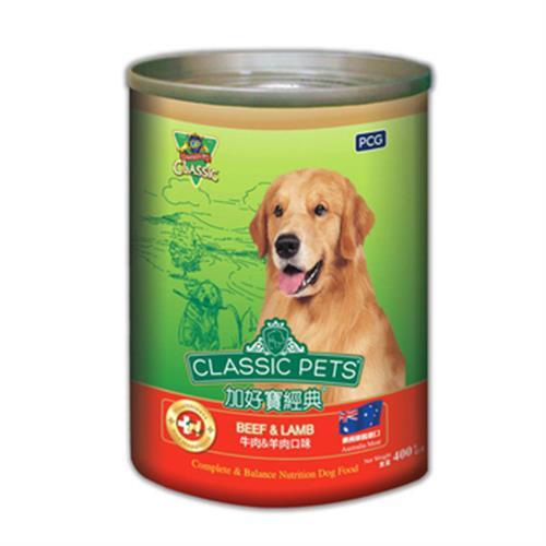 加好寶 經典狗罐-牛肉+羊肉口味(400g/罐)