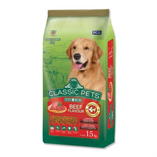 加好寶 經典乾狗糧-牛肉(15kg/袋)