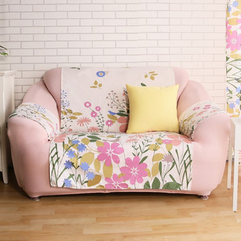 HomeBeauty 急凍涼感輕便沙發保潔墊-2+3人座 三色任選(蝶飛舞)