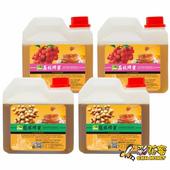 《彩花蜜》台灣嚴選-龍眼蜂蜜1200gx2+荔枝蜂蜜1200gx2(4入組)單筆消費滿1388即贈送台灣荔枝蜂蜜350g一瓶