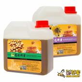 《彩花蜜》台灣嚴選-龍眼蜂蜜1200g+百花蜂蜜1200g(2入組)單筆消費滿1388即贈送台灣荔枝蜂蜜350g一瓶