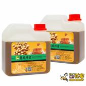 《彩花蜜》台灣嚴選-龍眼蜂蜜1200g(2入組)單筆消費滿1388即贈送台灣荔枝蜂蜜350g一瓶