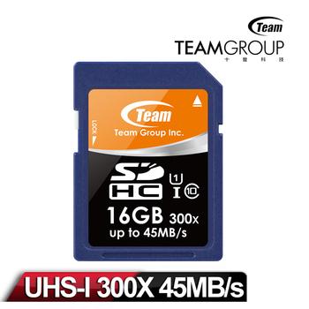 Team十銓科技 SDHC 高速 UHS-1 16GB 記憶卡