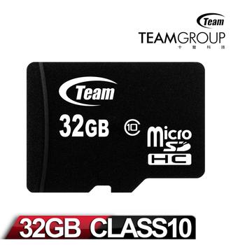 Team十銓科技 32GB MicroSDHC Class10 記憶卡
