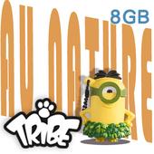 《義大利TRIBE》小小兵 8GB 隨身碟-草裙小小兵
